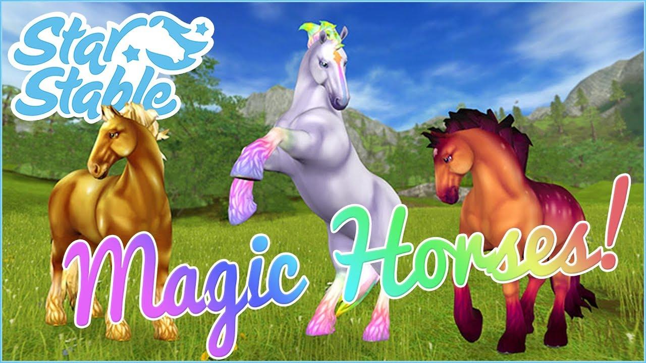 A New Herd of Magical Jorvik Horses!! ??? Star Stable Online