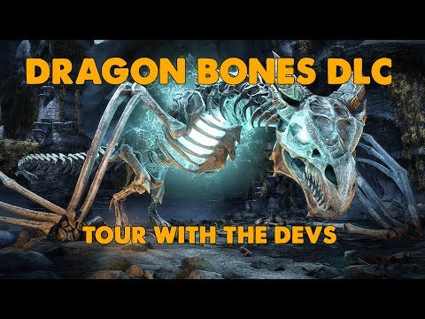 ESO - Dragon Bones DLC on PTS with the Developers !