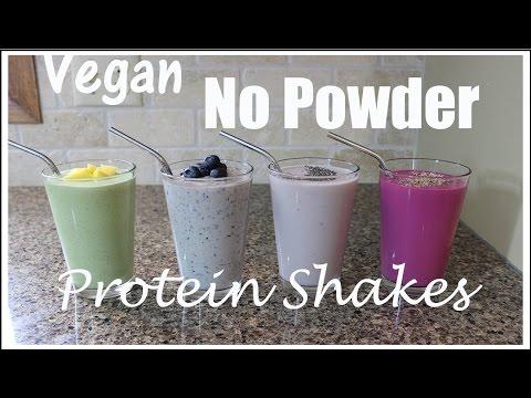 4 Vegan No Powder Protein Shakes | Ep. 9 Operation Vegan & Fit