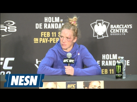 Holly Holm Loses Respect For Germaine De Randamie After Late Shots