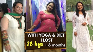Weight Loss Journey: With Yoga & Diet | Fat to Fit | Fit Tak
