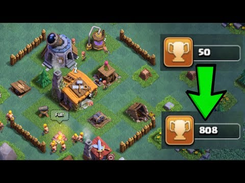 BEST BUILDER HALL 2 (BH2) BASE DESIGN IN CLASH OF CLANS! | SPEED BUILD +DEFENSE REPLAYS!!