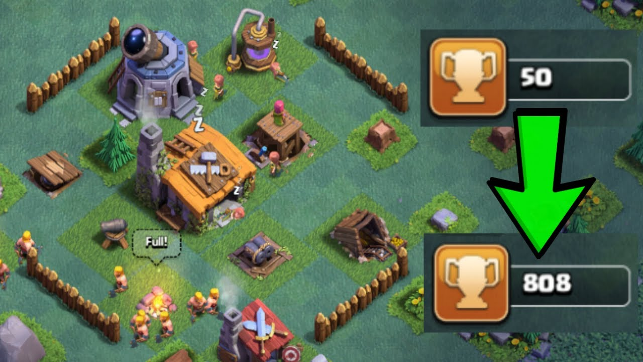 Best Builder Hall 2 Bh2 Base Design In Clash Of Clans