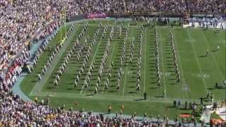 Wisconsin Marching Band at Lambeau Field