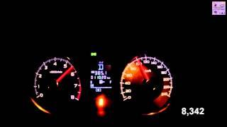 Subaru Forester Acceleration 0-100 km/h (Measured by Racelogic)