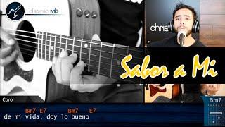Sabor a Mi - Guitarra Tutorial - Cover Acustico (HD) Como tocar SABOR A MI