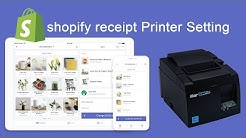 shopify Star receipt Printer Setting