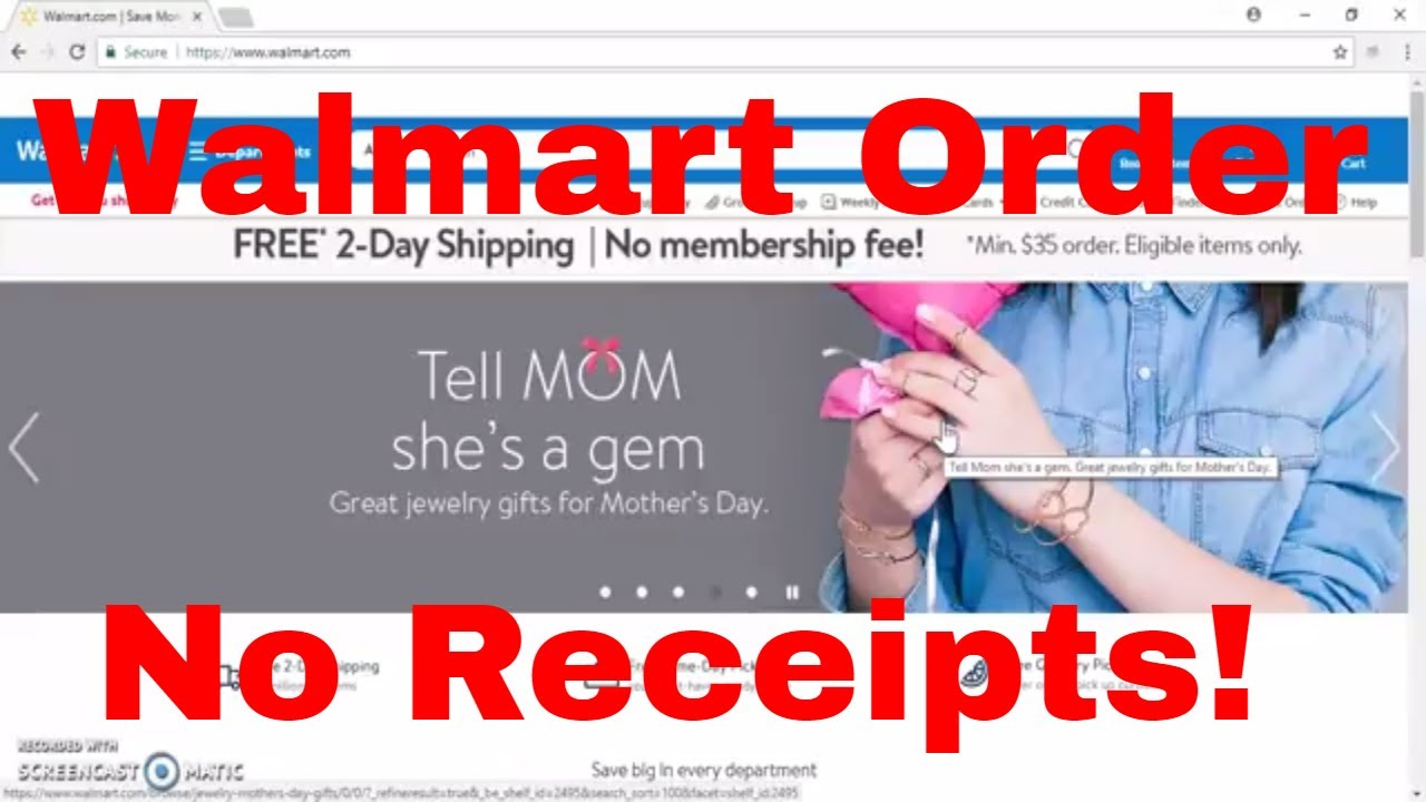 Walmart Wedding Registry: Drop Shipping EBay How I Place Order For Walmart Products