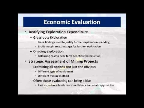 Mining Economics Chapter 1 & 2 PowerPoint