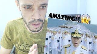 เพลงสรรเสริญพระบารมี อลังการบนเรือหลวงจักรีนฤเบศร (Official) ||REACTION|| جزائري