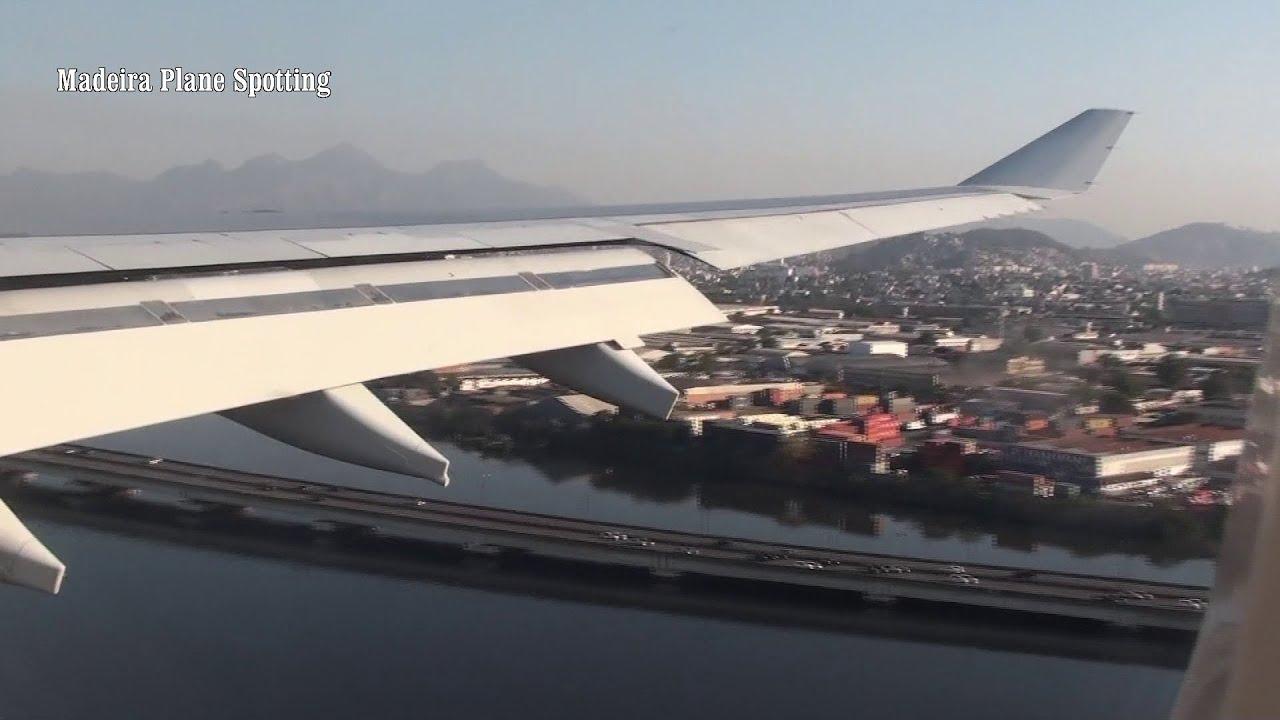 Aterragem TAP AIR PORTUGAL no Rio de Janeiro Airbus A330-200