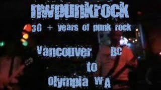 NW Punk Rock: 30+ Years of Punk Rock - Disc 1: Full Documentary