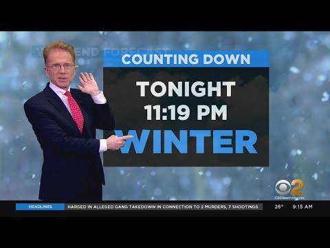 New York Weather: Start Of Winter