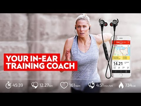 Best Wireless Sports Earphones with built in heart rate monitor
