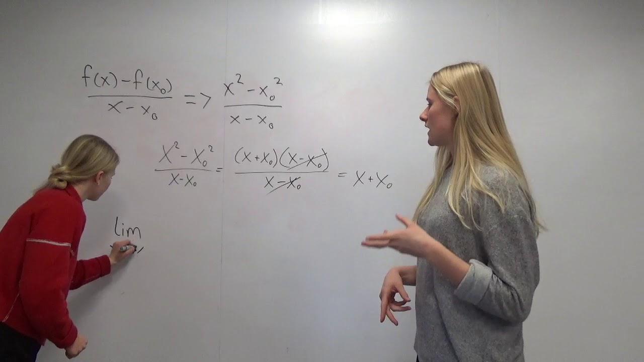Matematik film differentialregning
