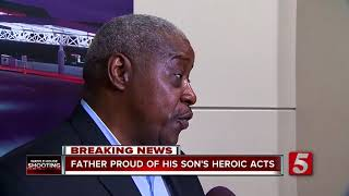 Father Proud Of Son's Heroic Actions