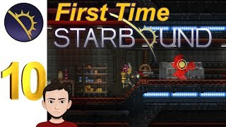 First Time Starbound - Episode 10 - Scanning For Hylotl Clues!!