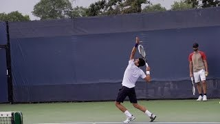 Novak Djokovic Ultimate Slow Motion Compilation - Forehand - Backhand - Serve - 2013 Cincinnati Open