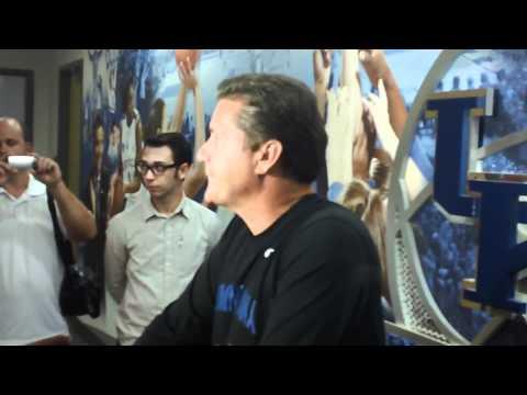 John Calipari Talks About Dominican Team