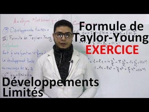 Developpements Limites Formule De Taylor Young Exercice D Examen Corrige Youtube