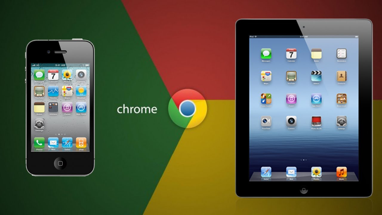 how to make chrome default on iphone