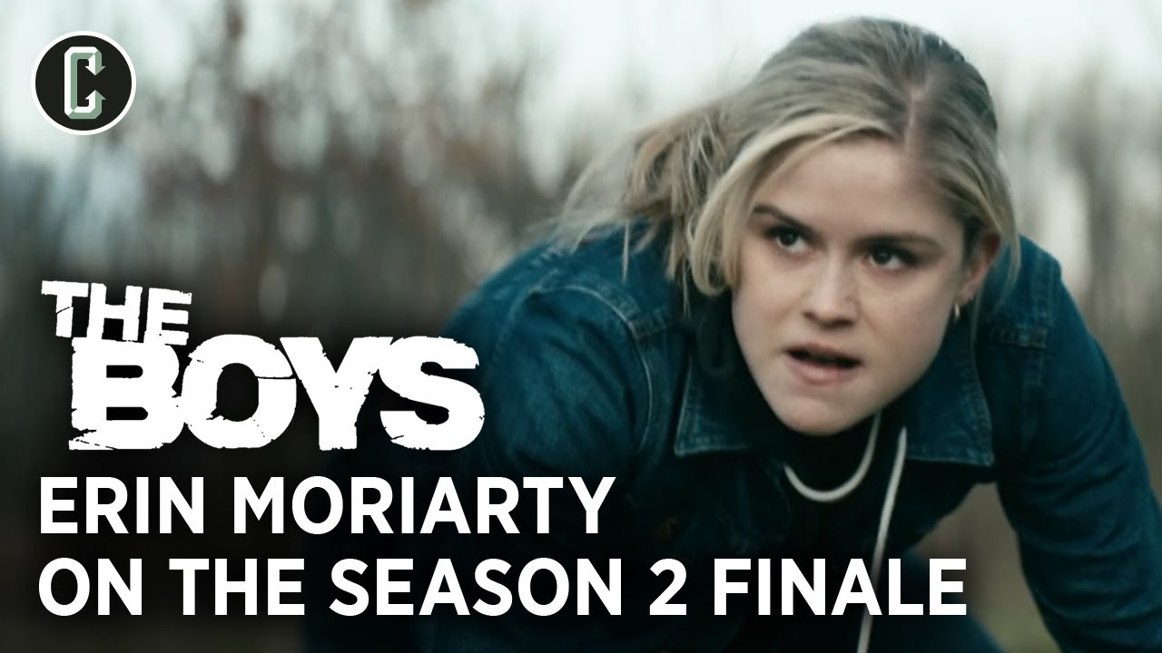 The Boys Season 2 Finale: Erin Moriarty on Filming That Epic Fight Scene
