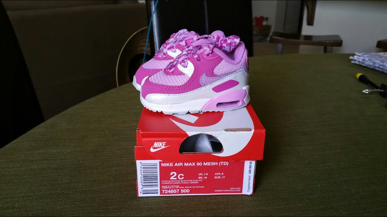 baby trainers nike air max