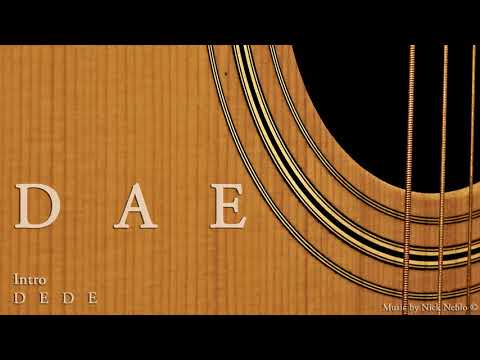 Acoustic Rock Guitar Backing Track D A E
