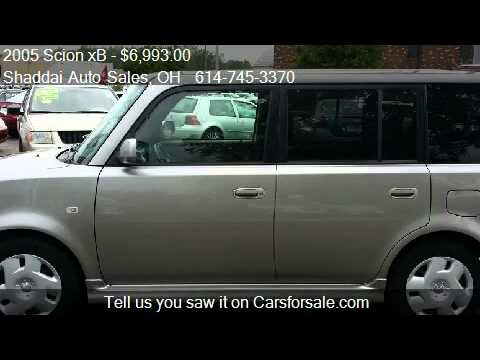 2005 Scion xB  for sale in Whitehall, OH 43213 at the Shadda