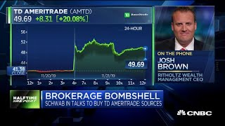 Josh Brown sees 'net win' in brokerage consolidation