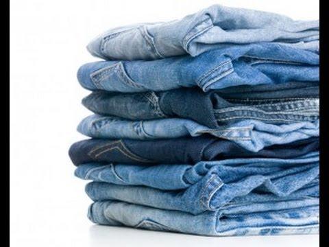 0 - Як правильно прати джинси 🥝 в машині