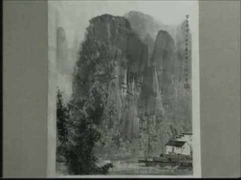 Bai Xueshi teaches Chinese landscape painting (4C)