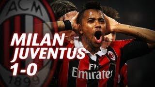 Milan-Juventus 1-0