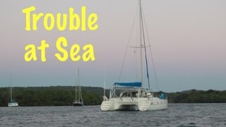 SE2 EP30. Trouble at Sea! Sailing the Caribbean, St Kitts to Montseratt
