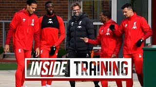 Inside Training: Van Dijk's MOTM & exclusive Melwood access
