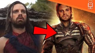 Bucky Barnes as Captain America Black Panther Easter Egg Explained