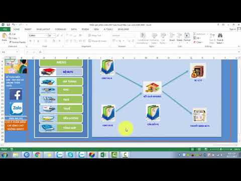 Download Phần mềm kế toán Excel miễn phí mới nhất 2018