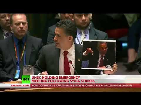 Bolivias ambassador to the UNSC slams Washingtons repeated WMD lies, from Iraq to ISIS to Syria
