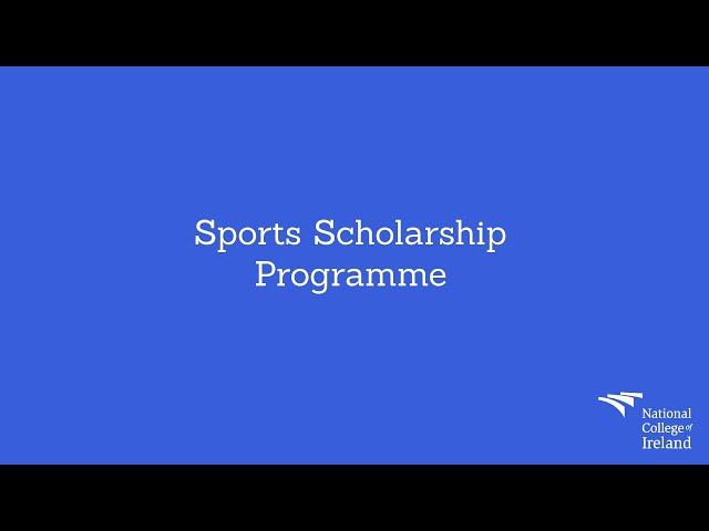 Sports Scholarship Programme at NCI
