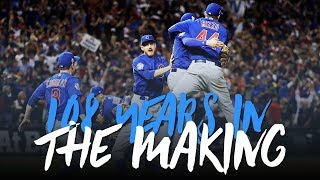Chicago Cubs 2016 Season Mini-Movie: 108 Years in the Making (Ultimate Playoff Highlights 2016) ᴴᴰ