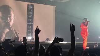 Kendrick Lamar - LOVE (Feat. Zacari) 2017 DAMN Tour San Jose CA