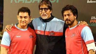 Star Sports Pro Kabaddi League│Shahrukh Khan, Aamir Khan, Amitabh Bachchan