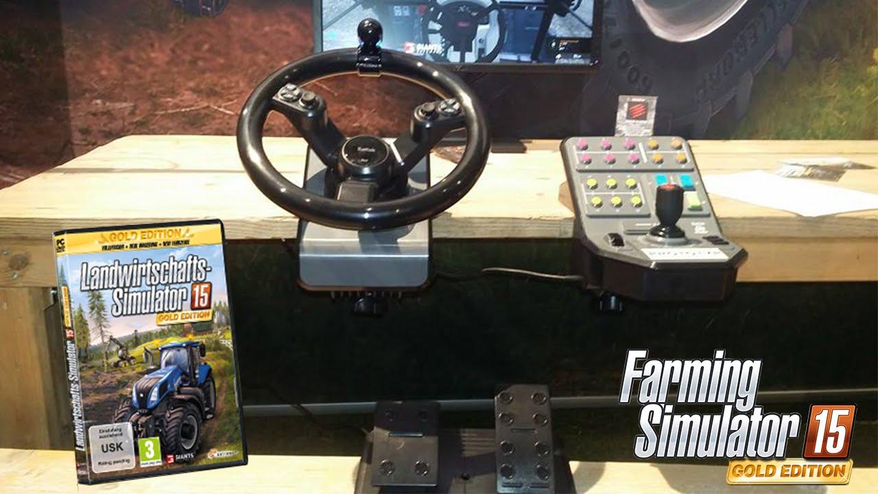 farming simulator 2015 gold edition volant youtube. Black Bedroom Furniture Sets. Home Design Ideas