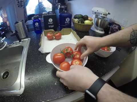 Cleaning Produce with 11.5 Strong Kangen Water  (MUST WATCH)
