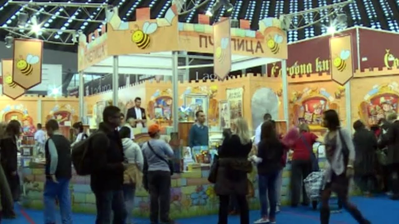 Sajam knjiga - Beograd 2014 - YouTube