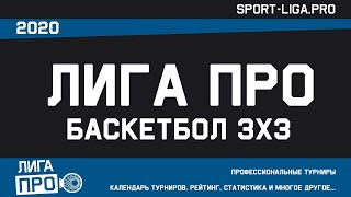 Баскетбол 3х3 Турнир Б 2 января 2021г