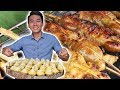 Tasty and Cheap STREET FOOD in Tra Su Cajuput Forest area  An Giang Viet Nam Travel