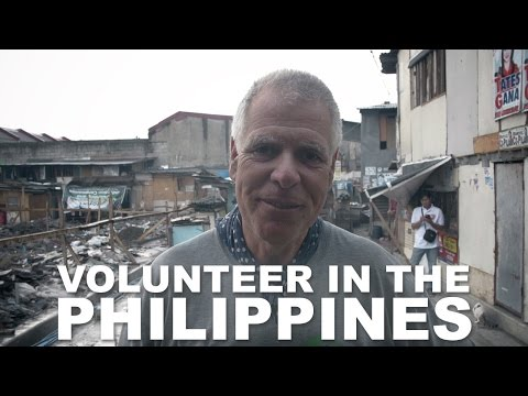 Volunteers Working in Slums in Manila, Philippines (Part 3)