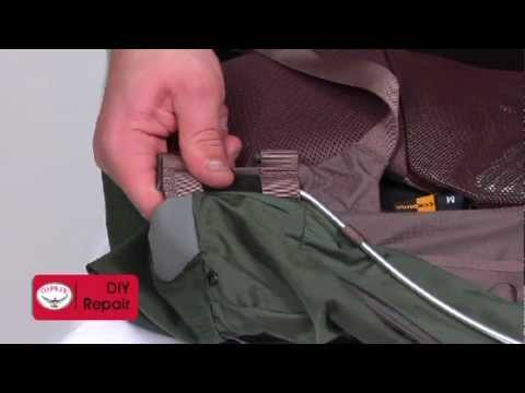 Osprey Packs | Replace ReCurve Side Rods | Pack Tech And Repair