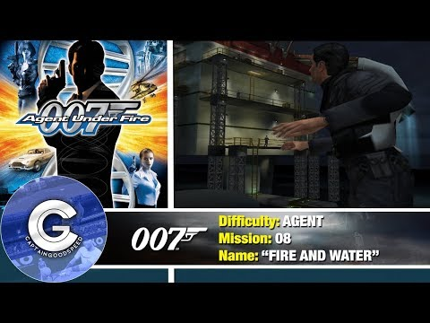 Mission 8 Fire And Water 007 Agent Under Fire Ps2 Full